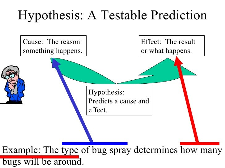 testable hypothesis examples biology