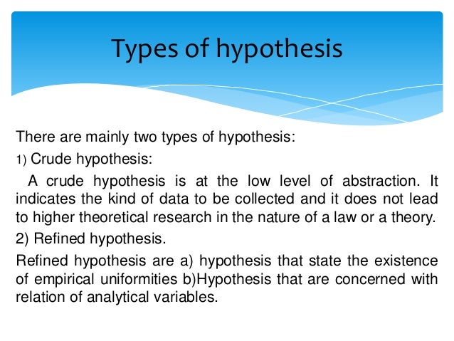 characteristics of a good hypothesis The characteristics of a good hypothesis are many the most important ones include being simple and clear this means that the hypothesis should be concise at to the point.