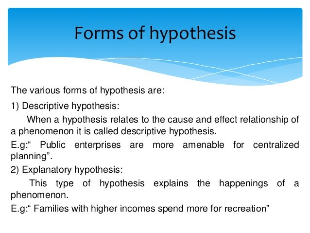 characteristics of hypothesis How can the answer be improved.