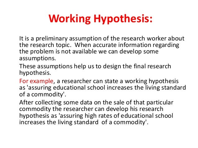 Ppt introduction to hypothesis powerpoint presentation, free.