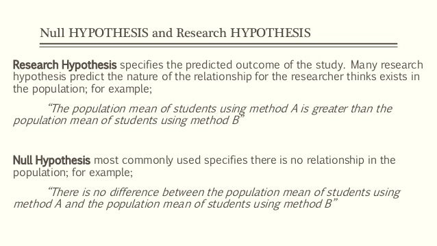 The Difference Between Statistical Hypotheses and Scientific Hypotheses