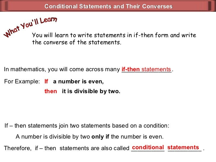 Hypothesis Conclusion (Geometry 1_4)