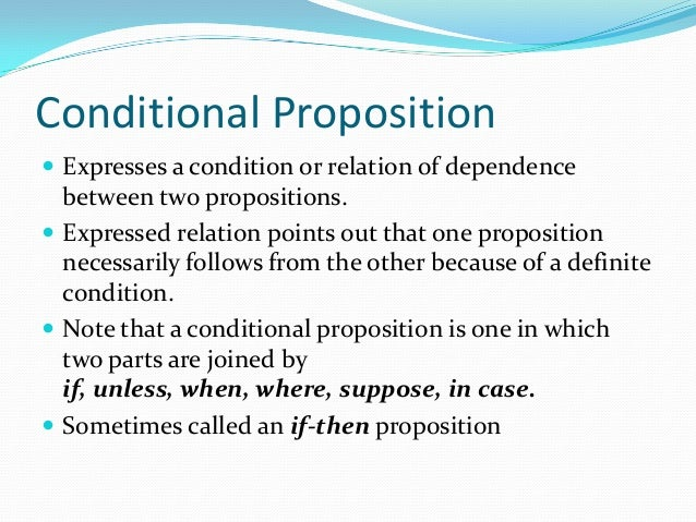 logic syllogism and proposition A syllogism is a form of logical reasoning that joins two or more premises to   the conclusion links these two propositions to conclude that if a swan is a bird it.
