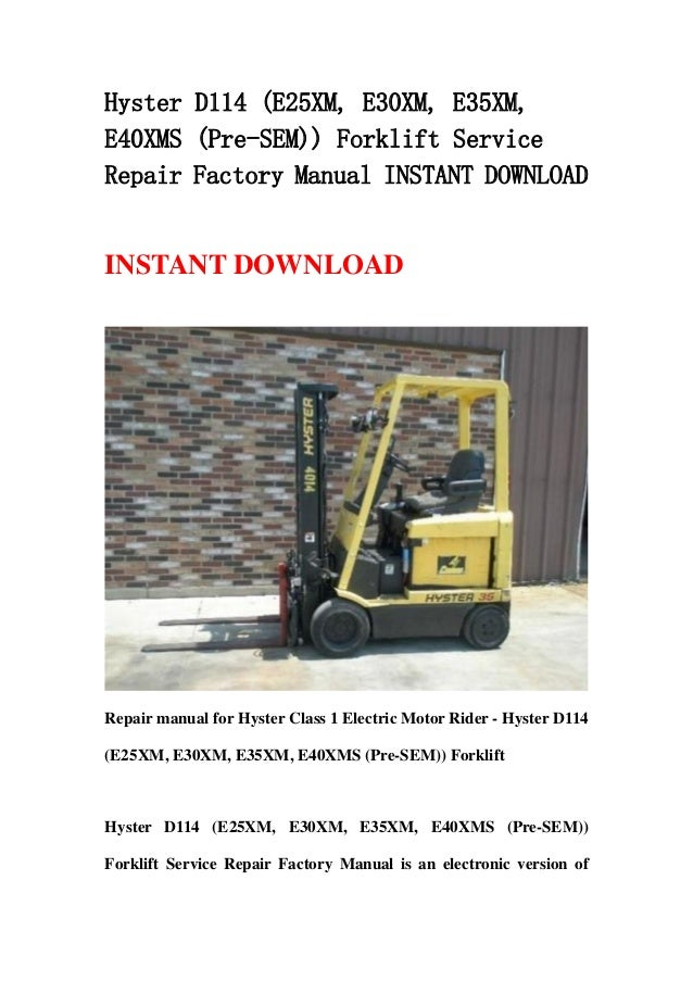 hyster 40 fork lift wiring diagrams hyster ignition system