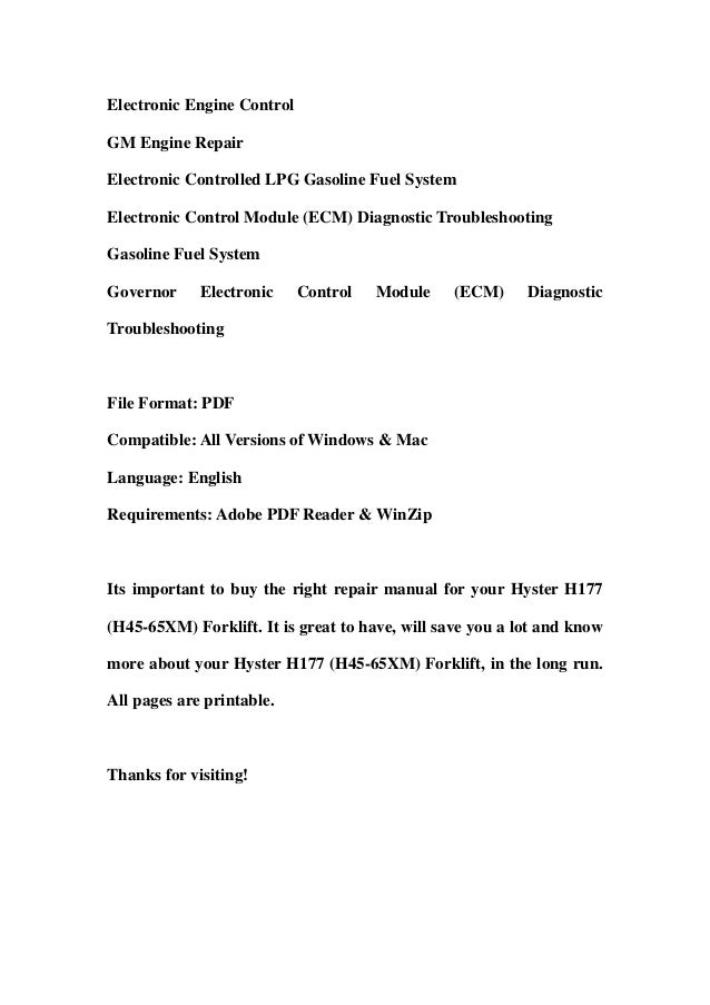 hyster h177 h45 65 xm forklift service repair workshop manual download 3 638?cb\=1366615172 hyster h50xm service manual wiring diagrams wiring diagrams hyster h50xm wiring diagram at edmiracle.co