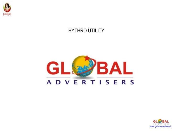 HYTHRO UTILITY www.globaladvertisers.in