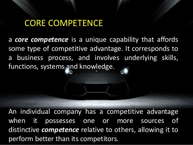 hyundai distinctive competence and core competence State what you believe is the distinctive competence and core competence of your selected company.