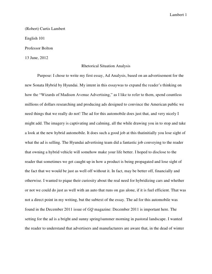 agreement essays