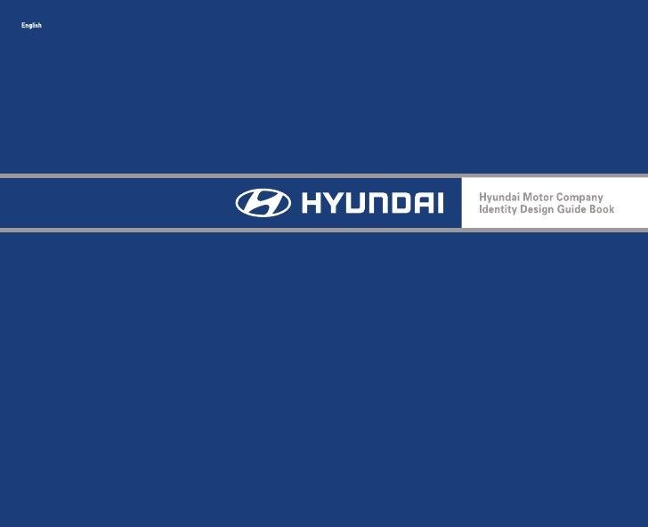 hyundai manual de identidade visual rh slideshare net hyundai brand guidelines 2017 hyundai brand guidelines