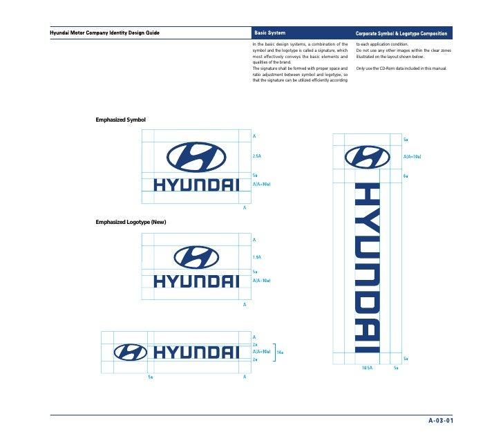 hyundai manual de identidade visual rh slideshare net hyundai brand guidelines pdf hyundai brand guidelines