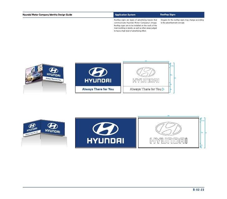 hyundai manual de identidade visual rh slideshare net hyundai brand guidelines 2018 Brand Style Guide Examples