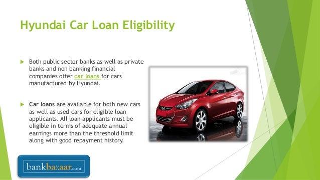 hyundai car loan interest rates in india