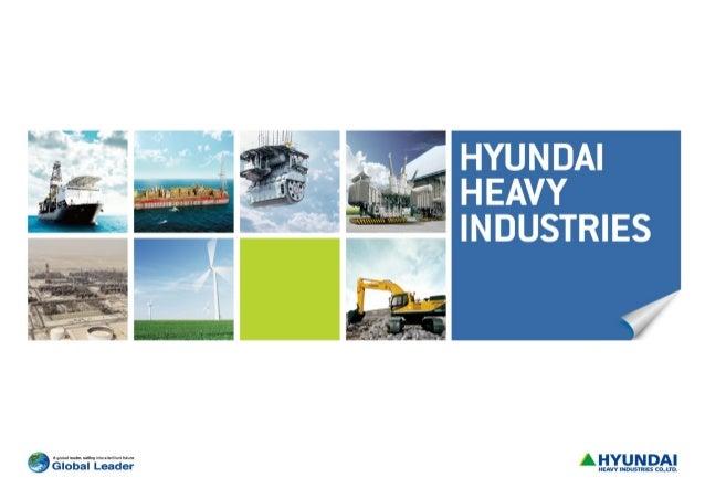 Hyundai Heavy Industries IR presentation 08032012