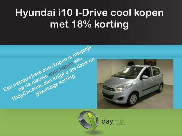 Hyundai i10 I-Drive cool kopen      met 18% korting