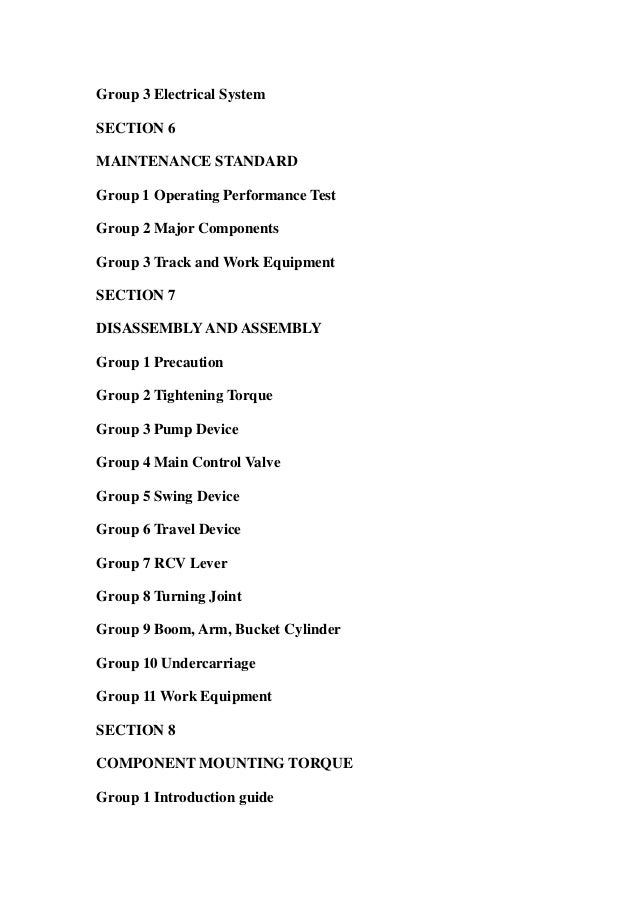 Hyundai r35 z 7 mini excavator service repair workshop manual download Slide 3