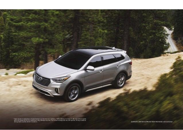 Jacksonville Hyundai Dealer >> 2017 Hyundai Santa Fe Brochure   Jacksonville Area Hyundai