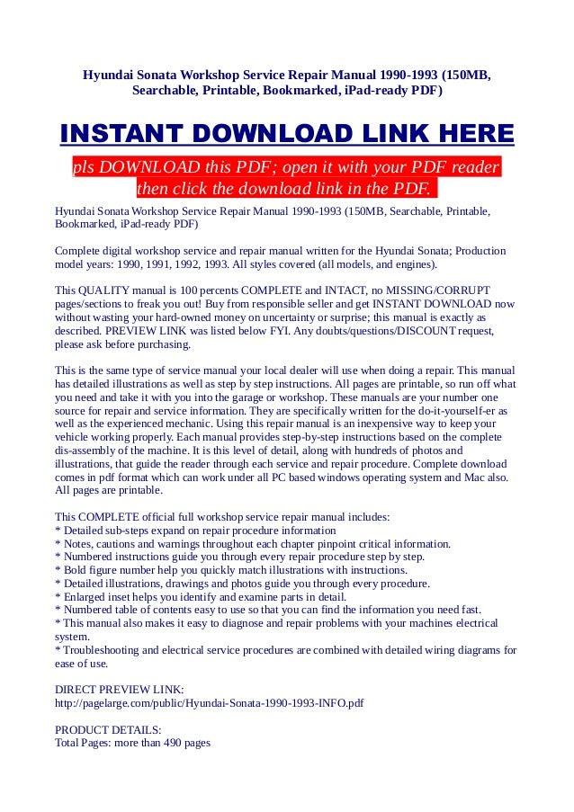 Hyundai Sonata Wiring Diagram Pdf - efcaviation.com
