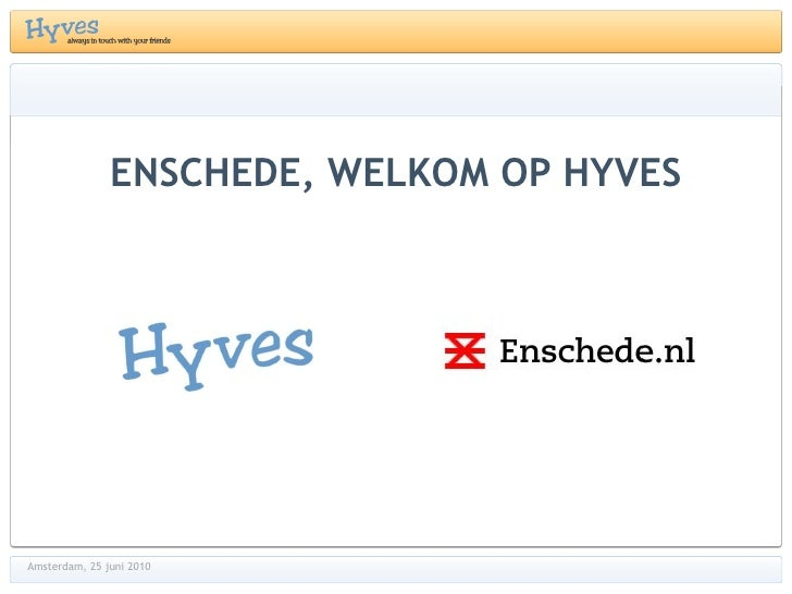 Hyves marcde vries250610