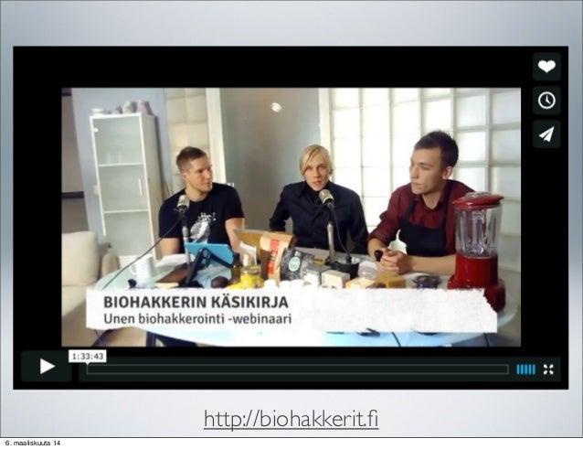 Hyvinvointikokonaisuus haltuun -seminaari : Uni ja Lepo - Olli Sovijä…