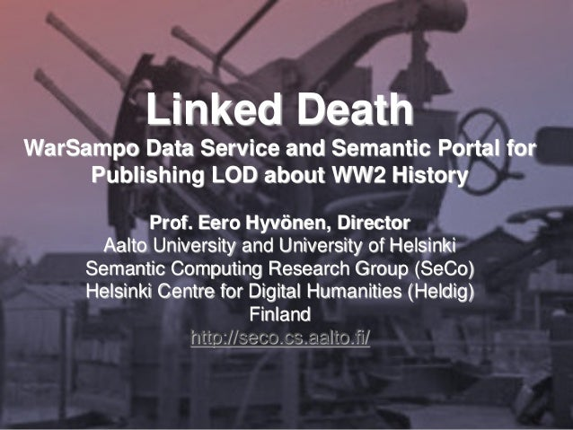 publishing and using cultural heritage linked data on the semantic web hyvonen eero
