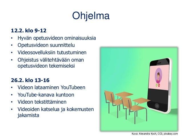 Hyvä opetusvideo 26.2.21 Slide 2
