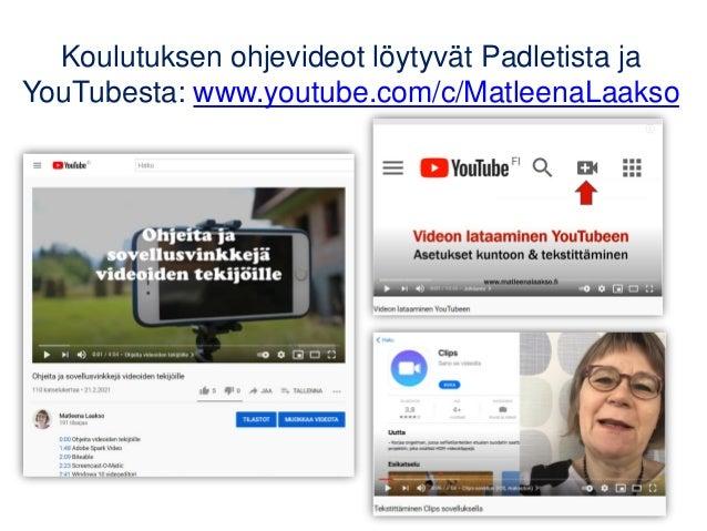 Hyvä opetusvideo 26.2.21 Slide 3