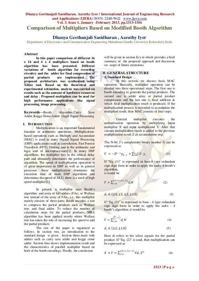 Dhanya Geethanjali Sasidharan, Aarathy Iyer / International Journal of Engineering Research               and Applications...