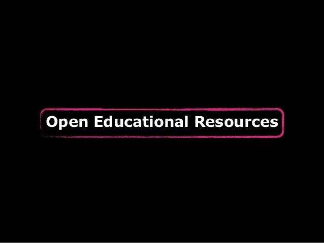 Was sind Open Educational  Resources? http://www.flickr.com/photos/nostri-imago/3705641811