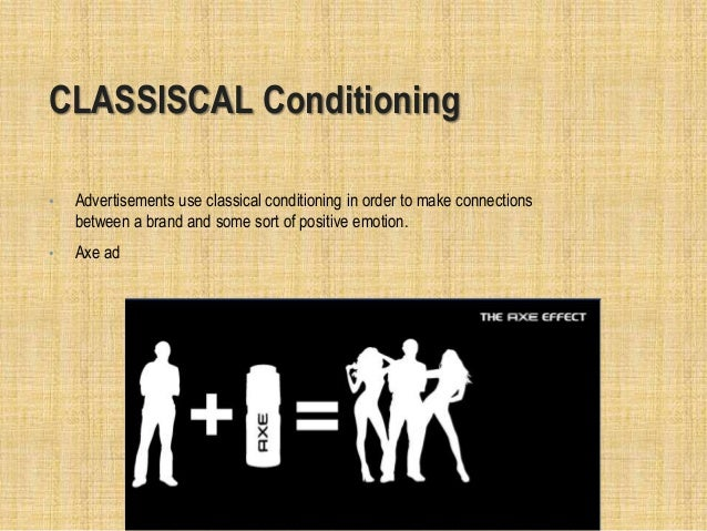 the use of classical conditioning in Classical conditioning n psychology a learning process by which a subject comes to respond in a specific way to a previously neutral stimulus after the subject repeatedly.