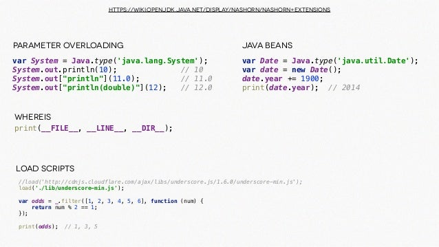 The Power of the JVM: Applied Polyglot Projects with Java and JavaScr…