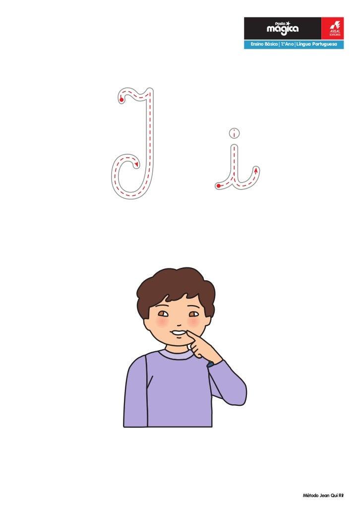 eEnsino Básico | 1.ºAno | Língua Portuguesa                         Método Jean Qui Rit