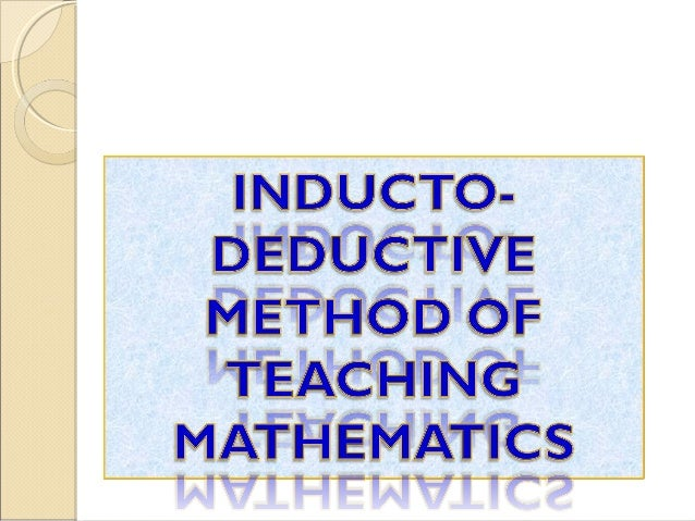 methods of mathematical education An introduction to teaching mathematics at the college level suzanne kelton assumption college  table of contents  who struggle with math if you are teaching mathematics at the college level, then repeated failure in math is something you have not likely experienced if you have done.