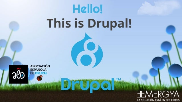 Hello! This is Drupal!