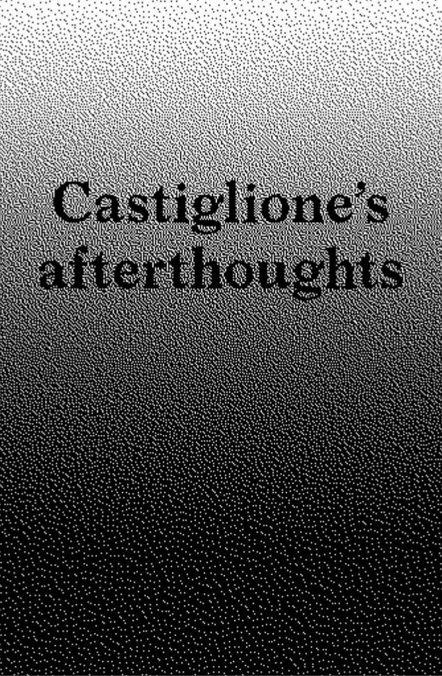 Introduzione Castiglione Street View Da cosa è delimitato un territorio? Quali sono i segni che indicano la nostra presenz...