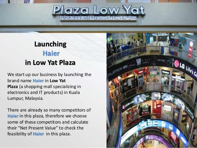 3 Important Competitors of Electronics in Low-Yat Plaza SamsungSonyDell