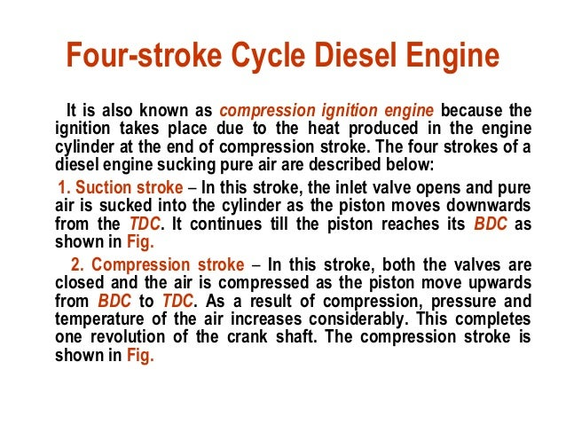 Stroke Engine Diagram Engine Diagram 1 Fuel Injected