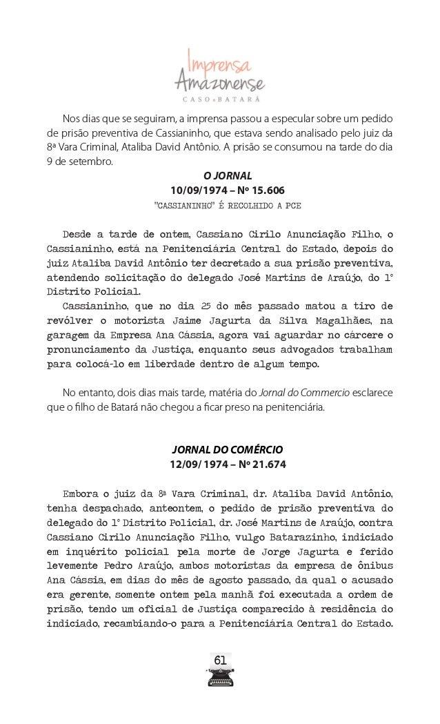 6666 A Crítica, Manaus, de 1 de junho de 1978, p. 01 (capa) e p.01 do 2º cad. A Crítica, Manaus, de 2 de junho de 1978, p....