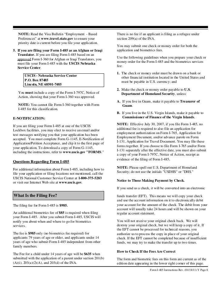 Uscis Gov Forms And Fees Gallery Free Form Design Examples