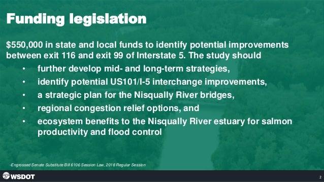 I-5 Study Report 2020 Slide 2