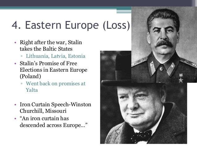 Tengowski I 6 Post Wwii Fo Po Cold War Differences