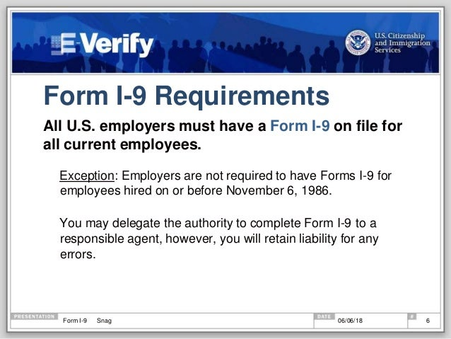 form i-9 requirements  Everything you need to know to complete the I-15 form