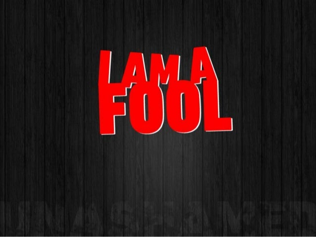 What is a fool?(fool) noun1. One who is deficient in judgment, sense, orunderstanding.2. One who has been tricked or made ...