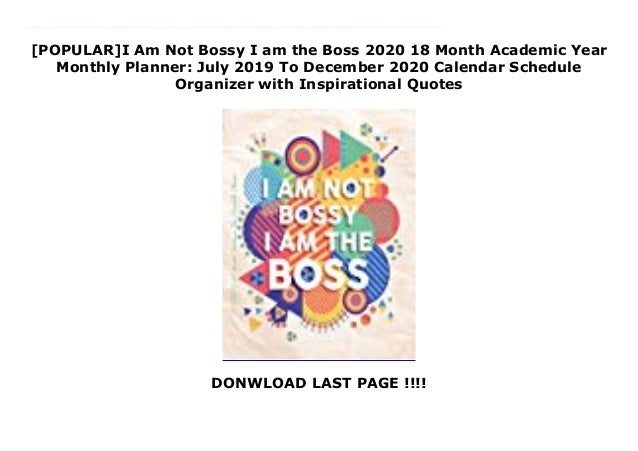 popular i am not bossy i am the boss month academic year mon