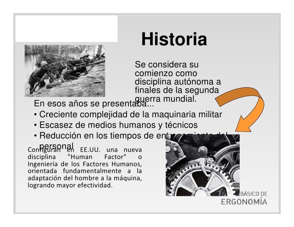 I conceptos basicos de ergonomia definicion historia for Caracteristicas de la ergonomia