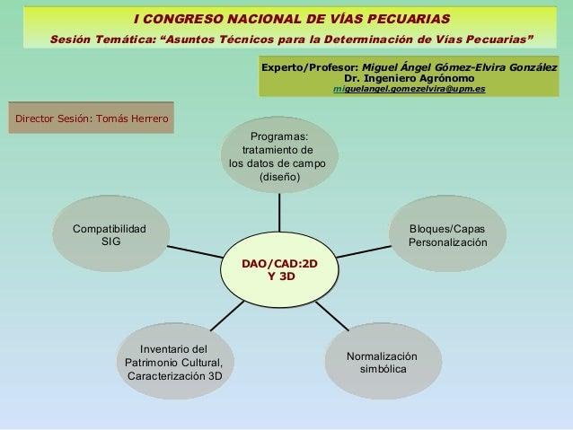 Compatibilidad SIG Inventario del Patrimonio Cultural, Caracterización 3D Normalización simbólica Bloques/Capas Personaliz...
