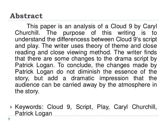 cloud 9 caryl churchill full text