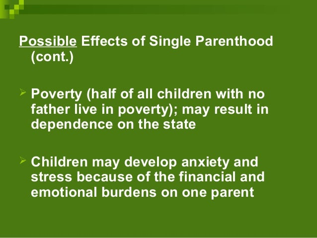 single parent and visiting union families The effects of marriage, civil union, and domestic partnership laws on the health and well-being of children.