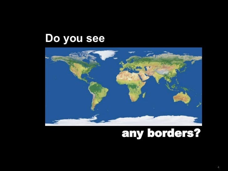 Do you see  any borders?