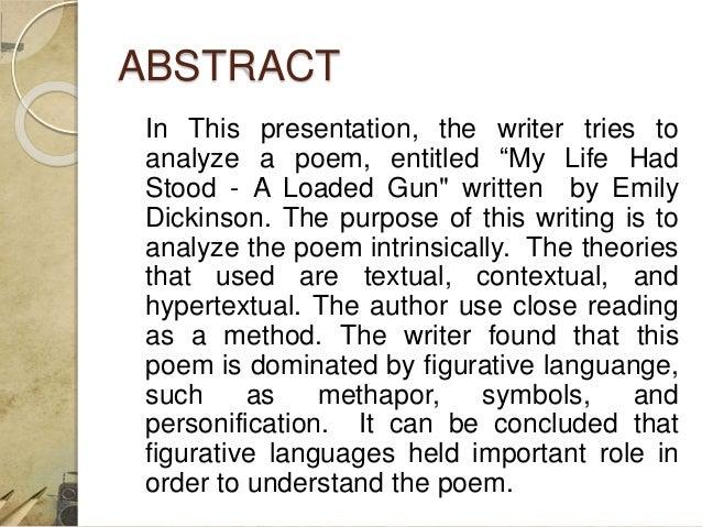 emily dickinson poem analysis