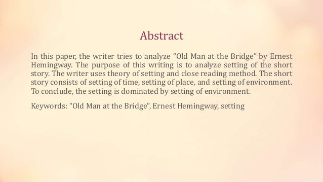 an analysis of the writing style of ernest hemingway an american author